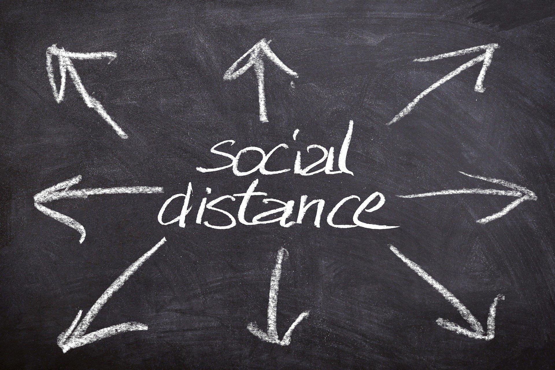 I messaggi positivi sono la chiave per promuovere il distanziamento sociale, i risultati dello studio